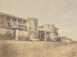 Dwelling of a baboo near Hooghly [Calcutta]